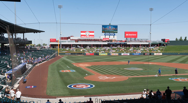 Spring Training Sloan Park 3-2016