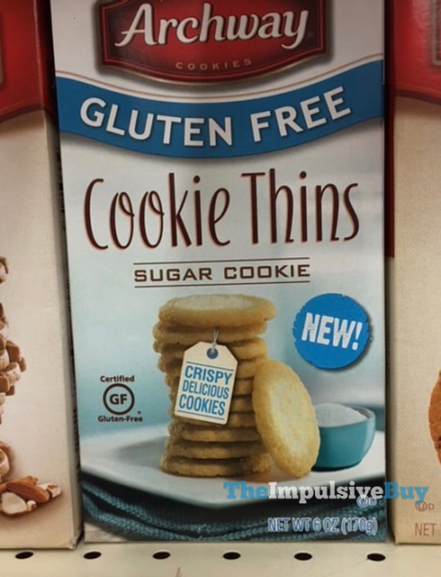 Archway Gluten Free Sugar Cookie Cookie Thins