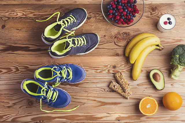 antes, durante y despues de correr - nutricion