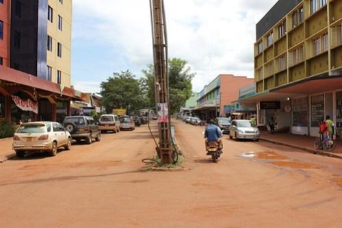 Jinja, main street