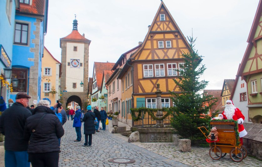 Shore Excursion to Rothenburg - Heart of Germany Christmas Market Cruise with Viking River Cruises, Dec. 2015