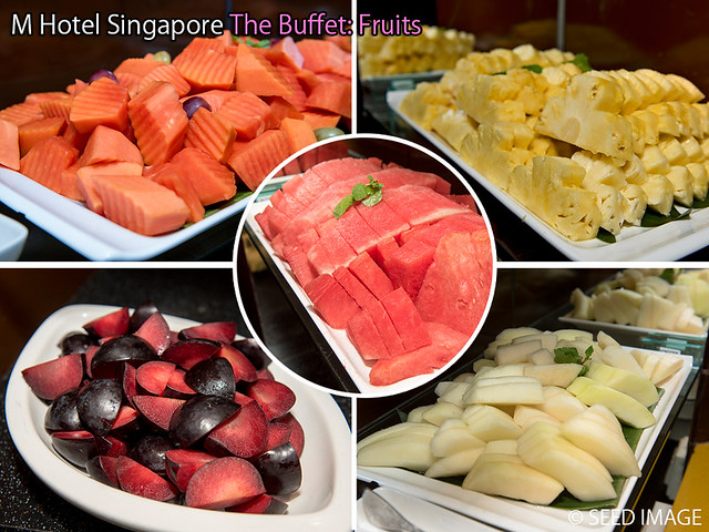 M Hotel Singapore The Buffet Fruits