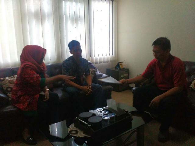 Pertemuan KPU Kab.Tulungagung dengan BAKESBANGPOL Kab.Tulungagung(15/04).
