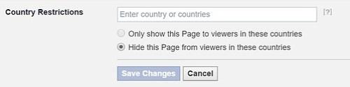 ระบุได้เลยว่าจะไม่ให้ใครจากประเทศไหนเข้า