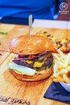 Bondi Wagyu Beef Burger, $16.95: Bondi Pizza, Macquarie. Sydney Food Blog Review