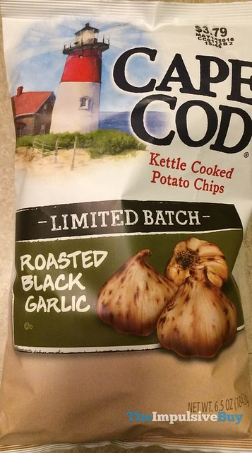 Cape Cod Limited Batch Roasted Black Garlic Kettle Cooked Potato Chips