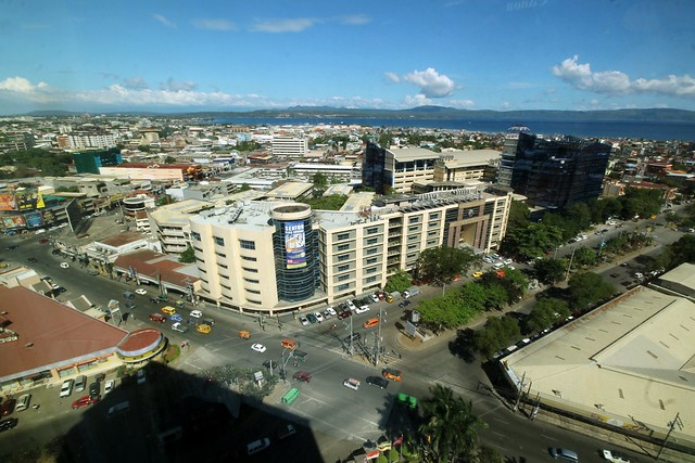 View of Davao City from Marco Polo Hotel Davao