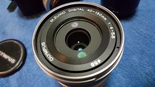 เลนส์ซูม 40-150mm F4-5.6 (ซูม 3.75x)
