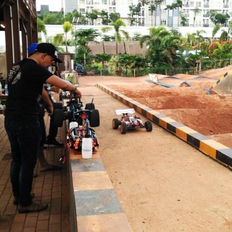 Dirt Race Car