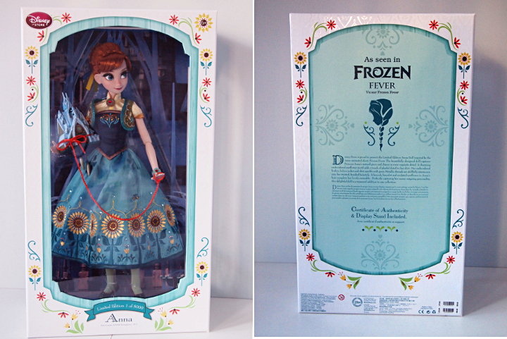 Limited edition Frozen Fever Anna