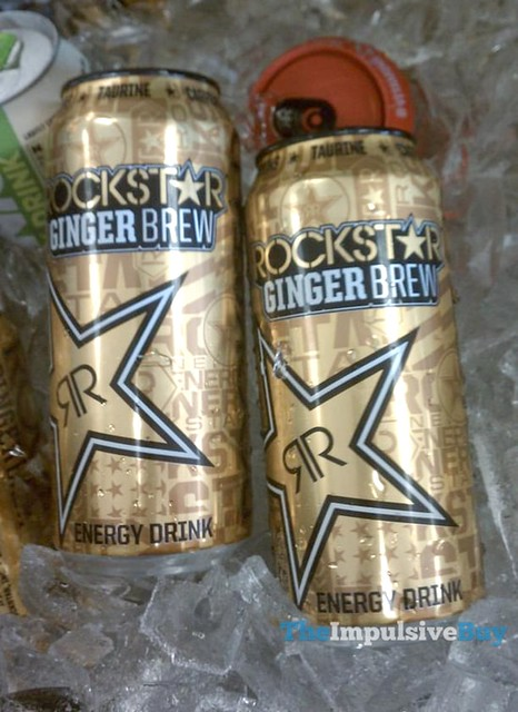 Rockstar Ginger Brew Energy Drink