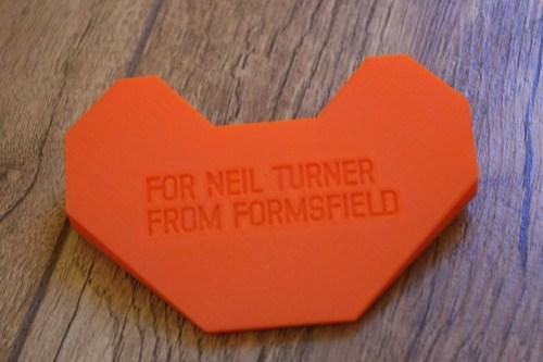 Formsfield 3d printing
