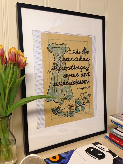 Like Soft Teacakes print by Lisa Kesler