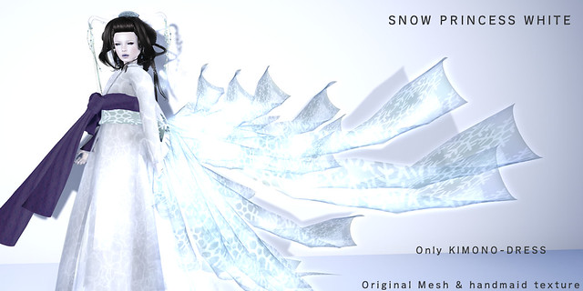 *NAMINOKE*Snow Princess White