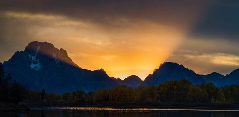 Oxbow sunset #2