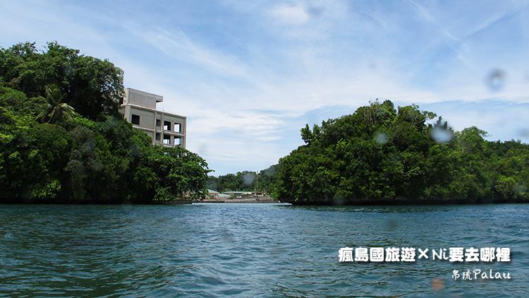 14帛琉市區獨木舟