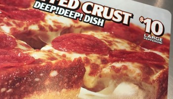 FAST FOOD NEWS Little Caesars Premium Stuffed Crust Deep Dish Pizza