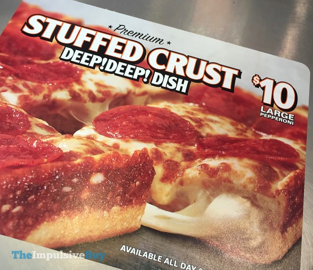 Little Caesars Premium Stuffed Crust Deep! Deep! Dish Pizza
