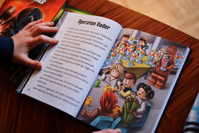 Lego Star-Wars-Bücher