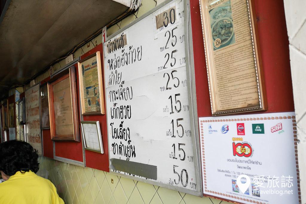 《曼谷餐厅推荐》Wattana Panich 郭炎松餐厅,品尝在地人喜爱的泰式牛肉面。