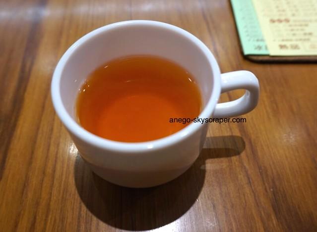 双連 団子屋のお茶