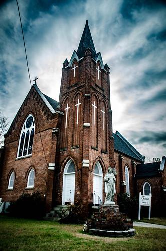 Sacred Hart Catholic Church in Blackville-003