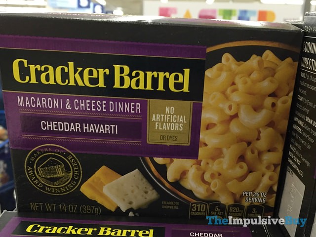 Cracker Barrel Cheddar Havarti Macaroni & Cheese Dinner