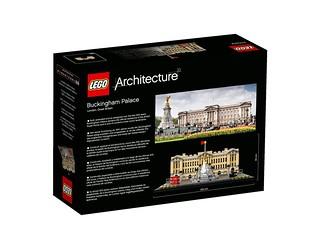 LEGO Architecture 21029 Buckingham Palace back