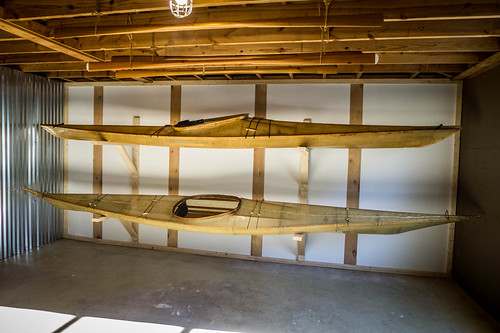 Skin-on-frame kayaks