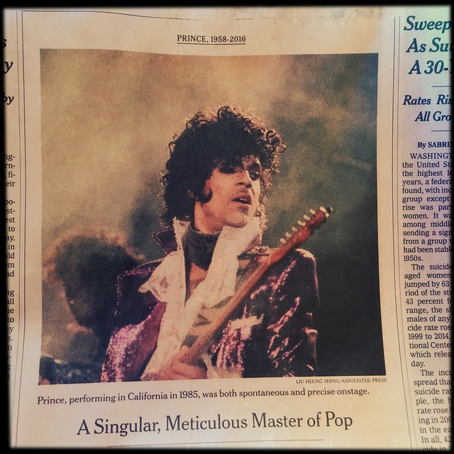 Prince - A Singular, Meticulous Master of Pop