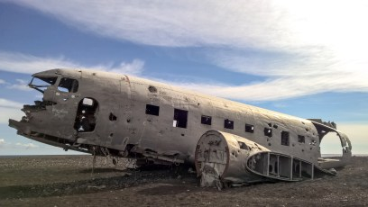 Crash US NAVY from the 70's, Douglas C47 Dakota - Iceland