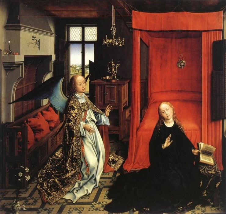 Weyden - Annunciation