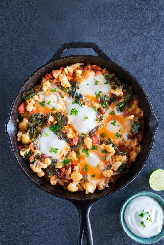 winter shakshuka