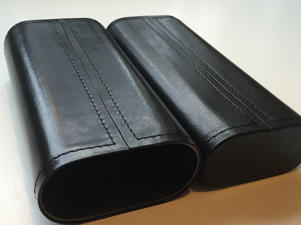 Vintage Leather Pen Case II (Gusti Leather)