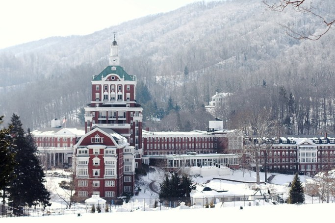 cozy weekend in Hot Springs, Virginia