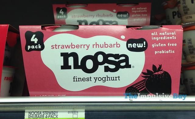 Strawberry Rhubarb Noosa Yoghurt