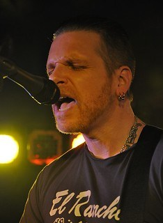 Ricky Warwick at the Diamond Rock Club, Ahoghill