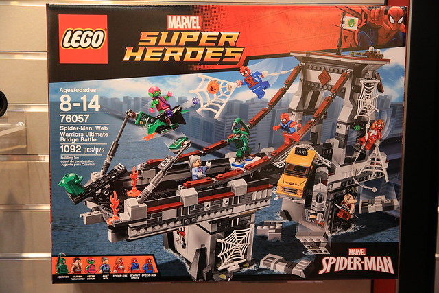 LEGO Marvel 2016 76057 Spider-Man Web Warriors Ultimate Bridge Battle 1