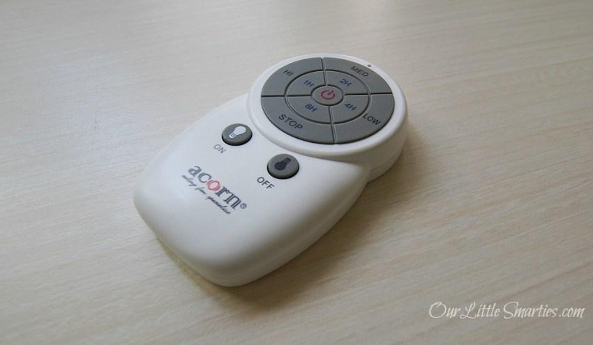 Acorn Ventilateur Remote Control