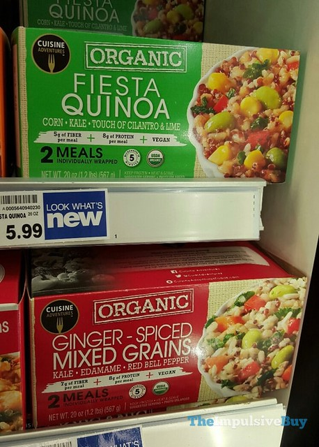 Cuisine Adventures Organic Fiesta Quinoa and Ginger-Spiced Mixed Grains