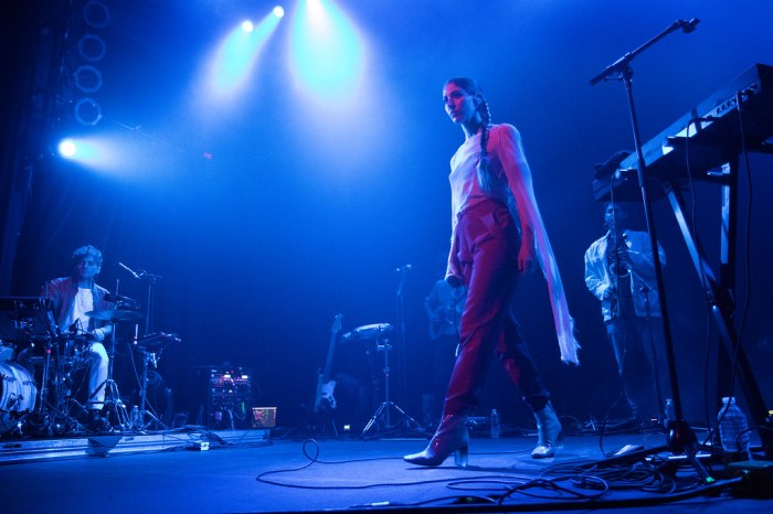The band Chairlift - Concert photos from Denver