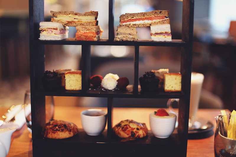 Afternoon Tea, Hilton Hotel, Bournemouth