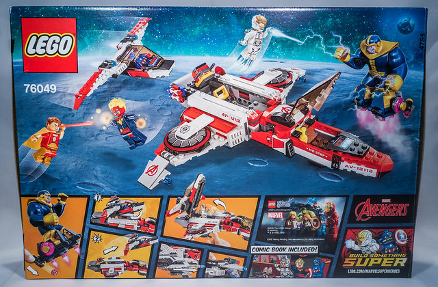 REVIEW LEGO 76049 Marvel - La mission spatiale dans l'Avenjet