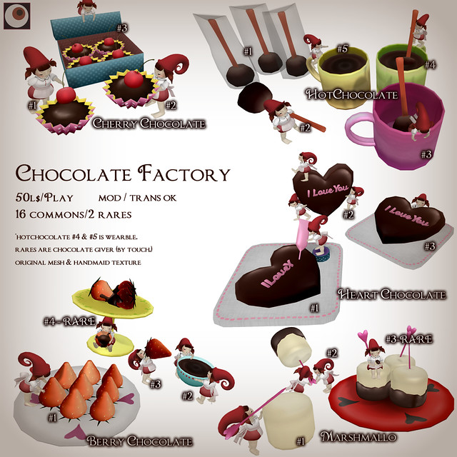 *NAMINOKE*Chocolate Factory Gacha