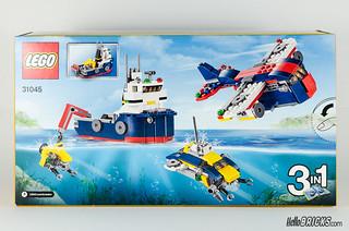 REVIEW LEGO Creator 31045 Ocean Explorer 02
