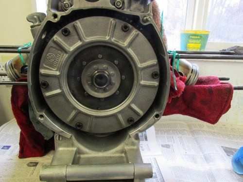 Refurbished Clutch Installed