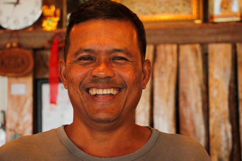 lokal mand på Koh Lanta