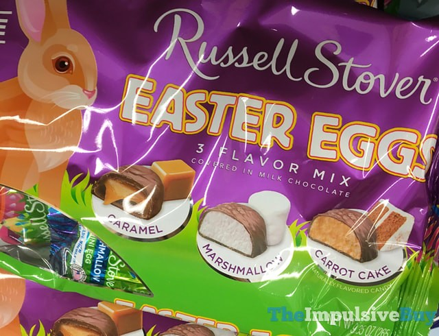 Russell Stover Easter Eggs 3 Flavor Mix