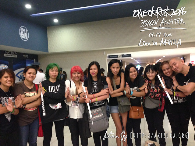 Philippines' ONE OK ROCKers Admins