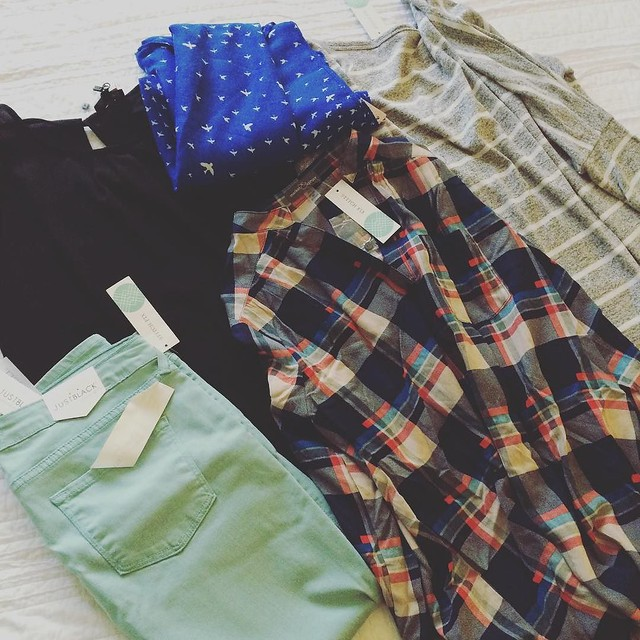 Super cute clothes in my @stitchfix box #2! Love them all! #stitchfix